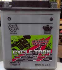 Interstate Cycle-Tron Battery